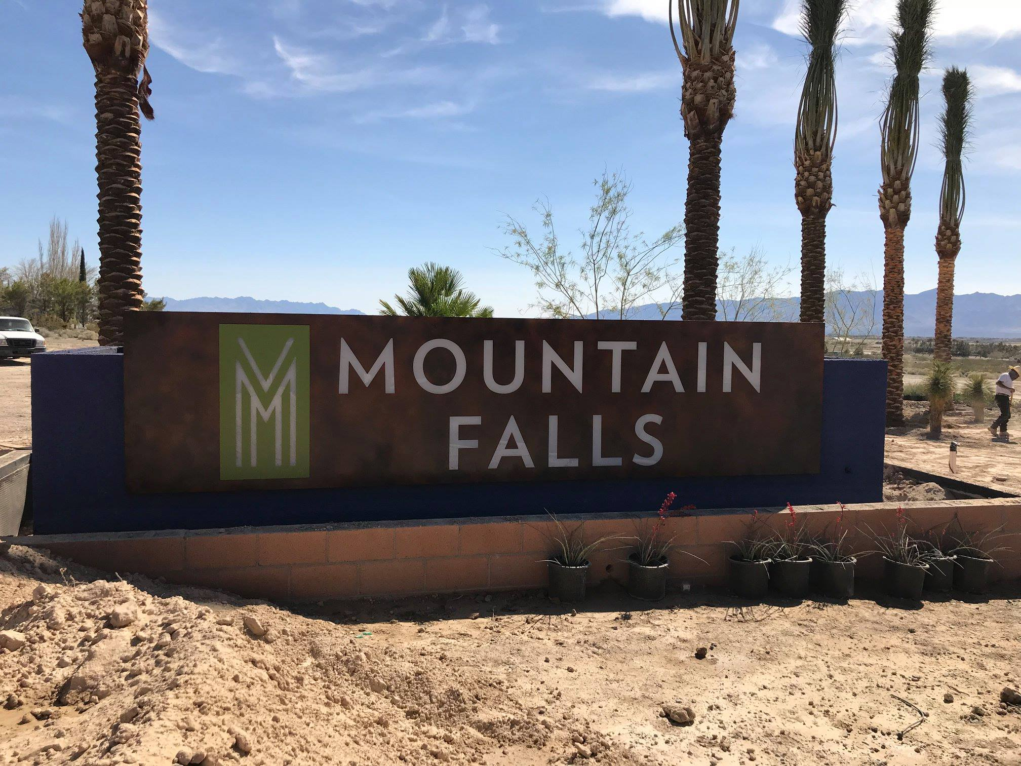 475 - Mountain Falls - Monument Sign