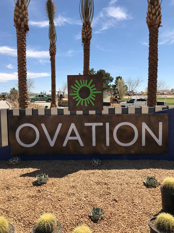 475 - Ovation - Monument Sign