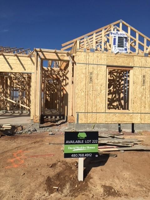 460 - David Weekley Homes - Lot Sign