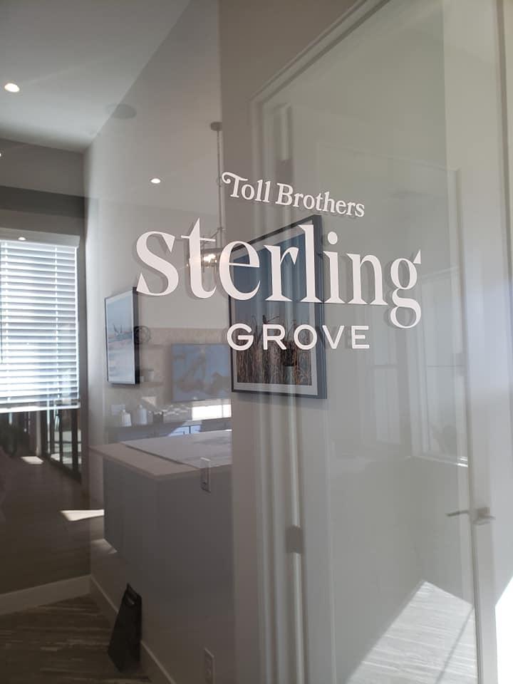 460 - Toll Brothers Streling Grove - Vinyl Door