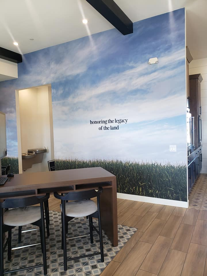 460 - Toll Brothers Streling Grove - Wall Graphic